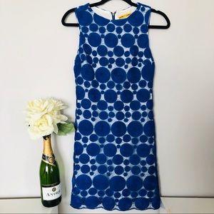 Alice + Olivia   Blue Lace Dress